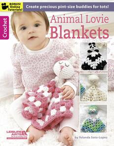 Leisure Arts  Animal Lovie Blankets