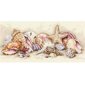 Dimensions  Seashell Treasures - Counted Cross Stitch Kit