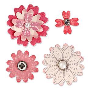 Sizzix  Bigz Die - Flower Layers w/Heart Petals