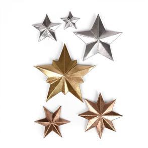 Sizzix Tim Holtz Dies - Dimensional Stars - Christmas