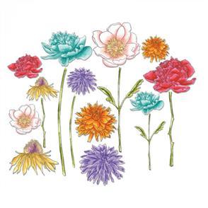 Sizzix Tim Holtz Dies - Flower Garden & Mini Bouquet