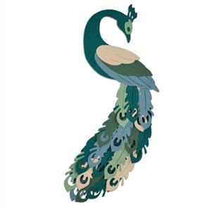 Sizzix  Thinlits Die Set 7PK - Peacock