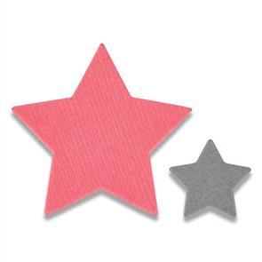 Sizzix  Framelits Die Set 2PK - Tiny Stars Mini