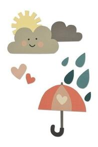 Sizzix  Thinlits Die Set 13pk - Rainy Days & Sunshine