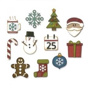 Sizzix  Tim Holtz Dies - Mini Christmas Things