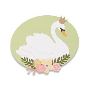 Sizzix  Thinlits Die Set 4PK - Royal Swan