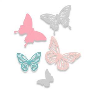 Sizzix  Thinlits Die Set 5PK - Butterflies