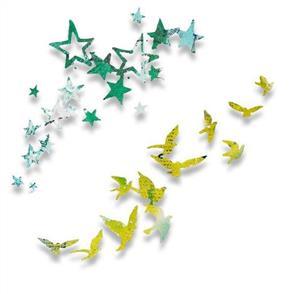 Sizzix  Thinlits Die -Birds and Stars