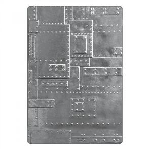 3-D Texture Fades Embossing Folder - Foundry