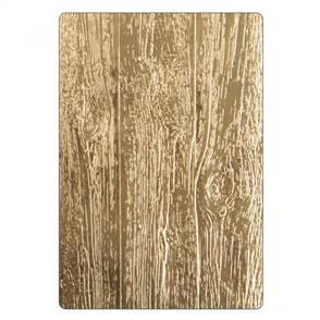 3-D Texture Fades Embossing Folder - Lumber