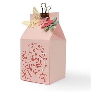 Sizzix Thinlits Die - Floral Favour Box