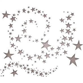 Sizzix Tim Holtz Thinlits Die Set 9PK - Swirling Stars
