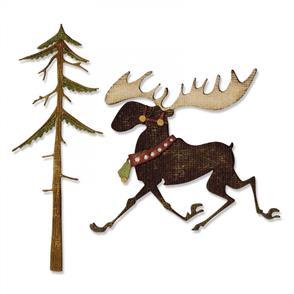 Sizzix Tim Holtz Dies - Merry Moose