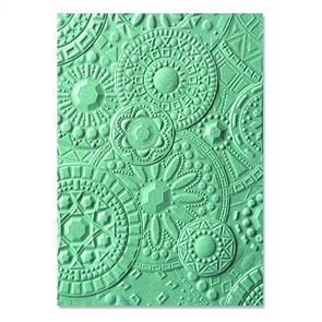3-D Textured Impressions Embossing Folder - Mosaic Gems