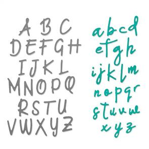Sizzix  Thinlits Die Set 2PK - Alphabet Set