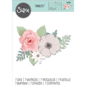Sizzix  Thinlits Die Set 7PK - Corsage