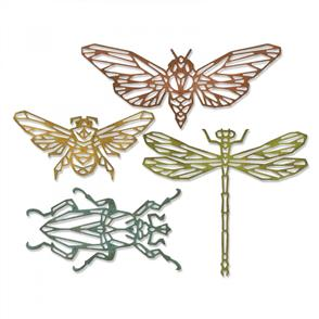 Sizzix Tim Holtz Thinlits Dies By  - Geo Insects