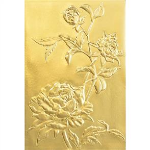 Sizzix Tim Holtz - 3-D Texture Fades Embossing Folder - Roses