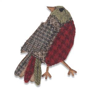 Sizzix Tim Holtz - Bigz Die - Patchwork Bird