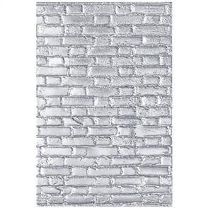 Sizzix Tim Holtz - 3-D Textured Impressions Embossing Folder - Brickwork