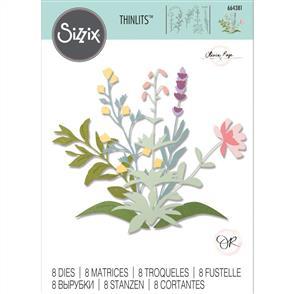 Sizzix  Thinlits Die Set 8PK Spring Stems