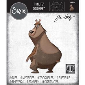 Sizzix Tim Holtz - Thinlits Die Set 9PK Theodore, Colorize