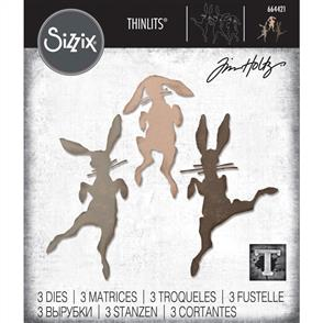 Sizzix  Thinlits Die Set 3 Pk - Bunny Hop