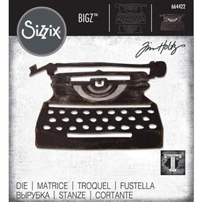 Sizzix Tim Holtz - Bigz Dies - Retro Type