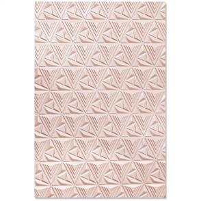 Sizzix  3D Textured Impressions By Jessica Scott - Geometric Lattice