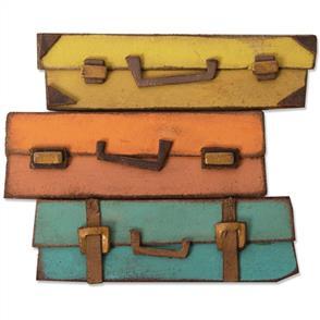 Sizzix Tim Holtz Bigz Die Baggage Claim