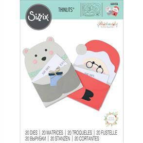 Sizzix  Thinlits Die Set 20PK - Santa's Letter