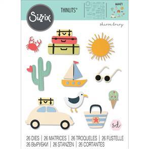 Sizzix  Thinlits Die Set 26PK - Summer Days