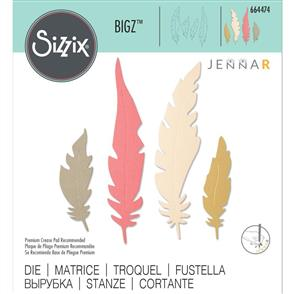 Sizzix  Bigz Die - Natural Feathers