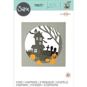 Sizzix  Thinlits Die Set 8PK - Haunted Hills