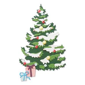 Sizzix  Layered Christmas Tree - 8 pack, Thinlits Die Set