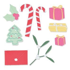 Sizzix  Stocking Fillers - 14 Pack, Thinlits Die Set