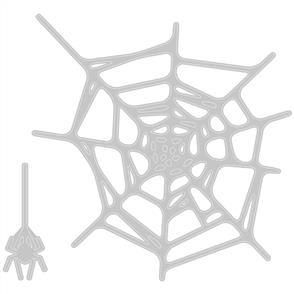 Sizzix Tim Holtz Dies - Spider Web - 2Pkg
