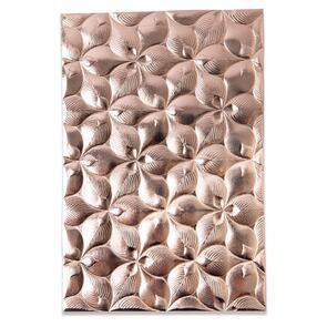 Sizzix 3-D Textured Impressions Embossing Folder - Organic Petals