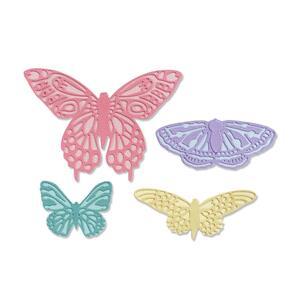 Sizzix  Thinlits Die Set 9PK - Flutter on By