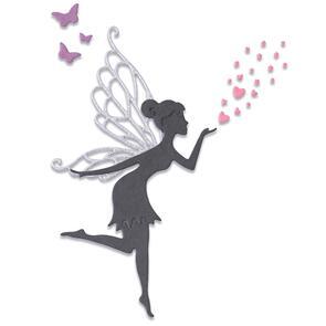Sizzix Thinlits Die Set 5PK - Fairy Wishes