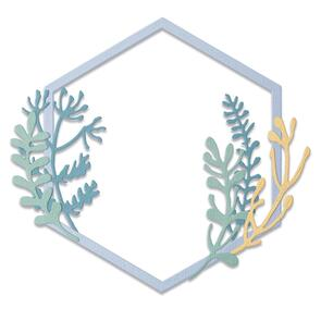 Sizzix Thinlits Die Set 6PK - Botanical Frame