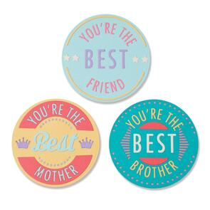 Sizzix Thinlits Die Set 18PK - You're The Best