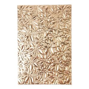 Sizzix Holly - 3-D Textured Impressions Embossing Folder by Kath Breen