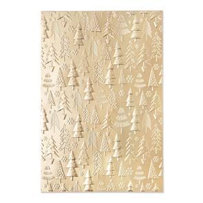 Sizzix  Christmas Tree Pattern - 3-D Textured Impressions - 665254