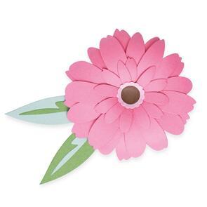 Sizzix  Gerbera Flower - 8 pack Thinlits Die Set - 665334
