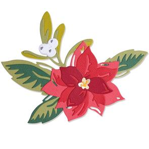 Sizzix  Layered Christmas Flower - 13 pack Thinlits Die Set