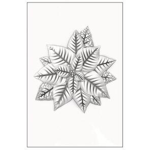 Sizzix  Poinsettia - 3-D Impresslits by Kath Brteen - 665354