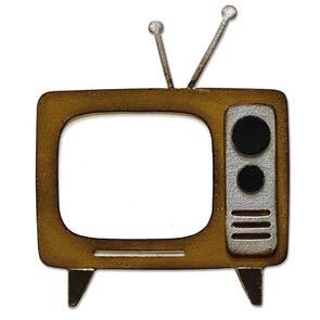 Sizzix  Bigz Die - Retro TV by Tim Holtz