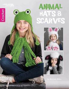 Leisure Arts  Animal Hats & Scarves
