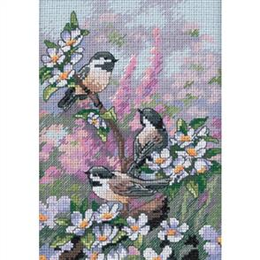Dimensions  Chickadees - Cross Stitch Kit